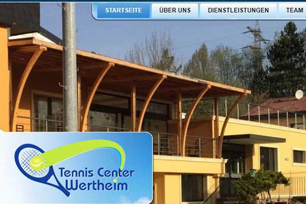 Уеб сайт Тенис център Вертхайм Германия