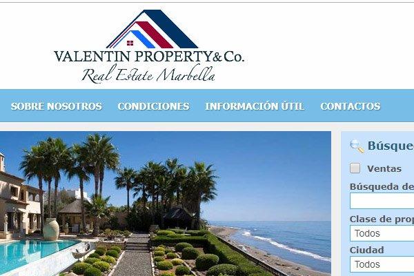 Уеб сайт Marbella Alquiler de casas