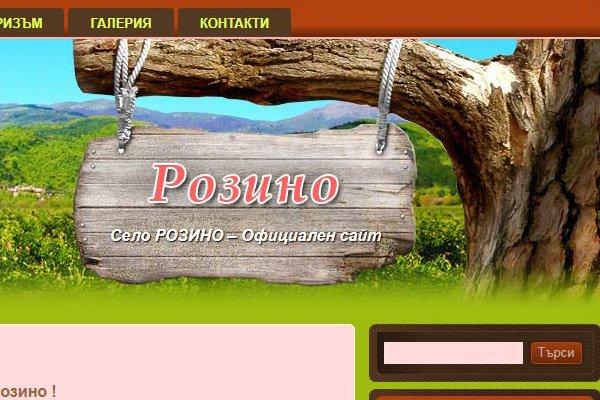 Представителен уеб сайт Rozino.eu